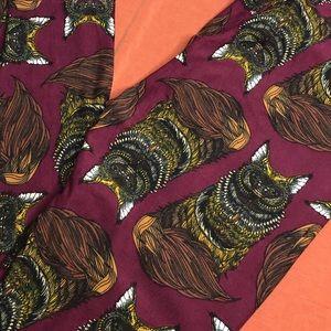 LuLaRoe NWT UNICORN fox leggings. ONE SIZE